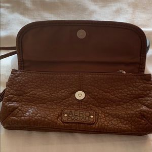 Aeropostale wristlets brown color  8.5 x 4